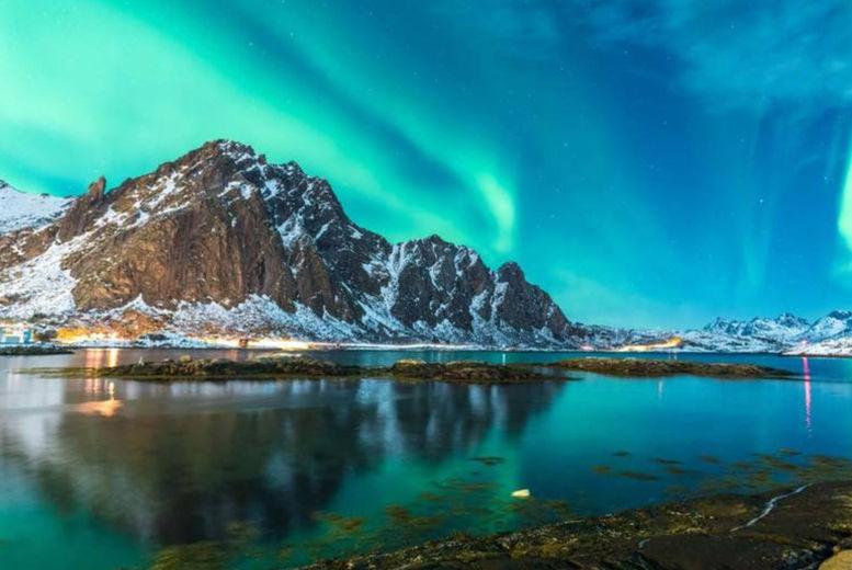 Iceland Stock Image-Northern lights
