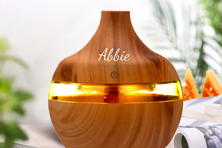 Personalised Aroma Humidifier Deal | Shop | Wowcher