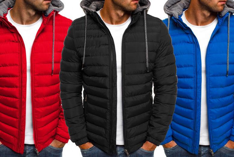 Changshashi-yichi-keji-youxiangongsi-Solid-Color-Basic-Mens-Hooded-Cotton-Cardigan-1