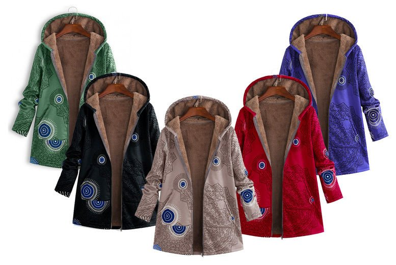 Hey4Beauty-Women's-Printed-Fleece-Lined-Jacket-1