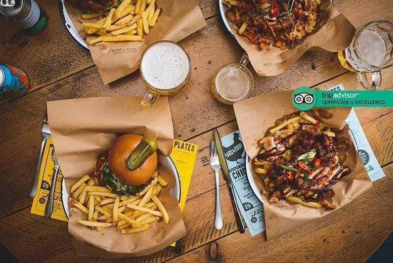 Yard & Coop American Dining Deal