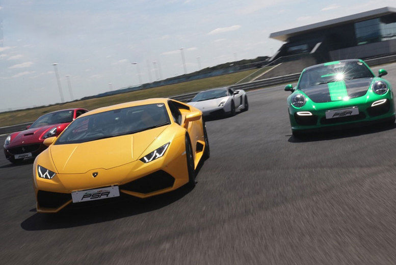PSR Experience - Junior Supercar Driving Experience