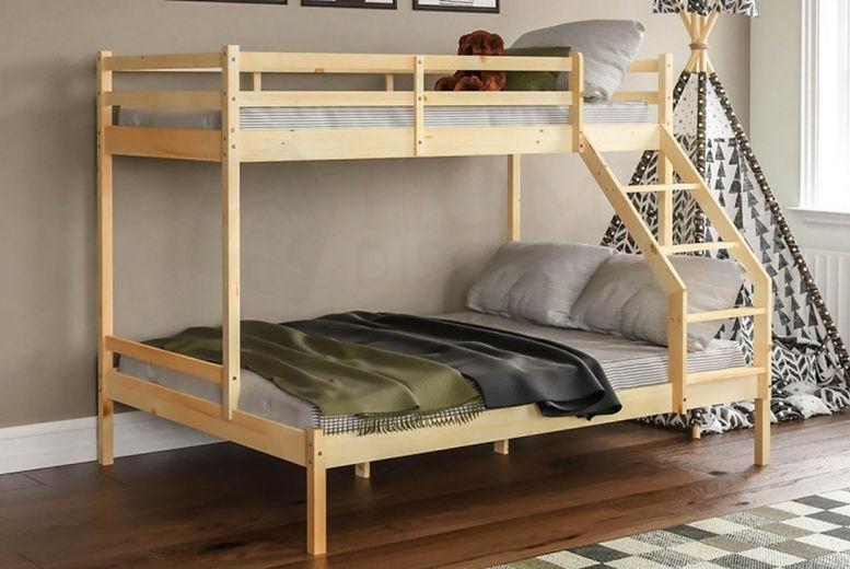 Triple Sleeper Bunk Bed Offer Beds Mattresses Deals In Shop Livingsocial