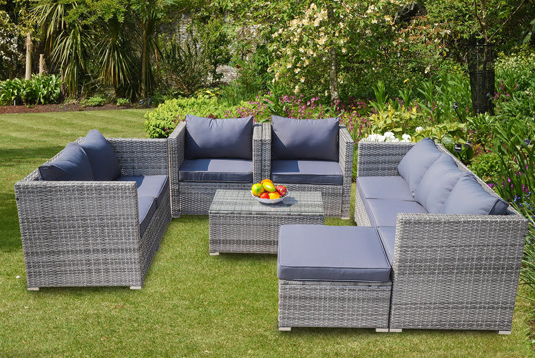 Rattan Furniture Set Shop Livingsocial