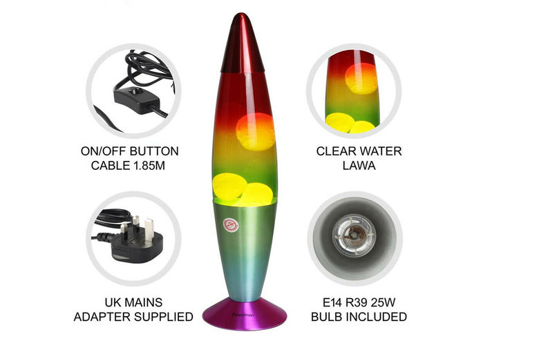 Rainbow Lava Lamp Offer Home Deals In, Battery Lava Lamp Uk