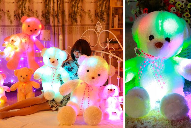 Cute Lamb Stuffed Animals, Luminous Teddy Bear Toy Deal Shop Wowcher