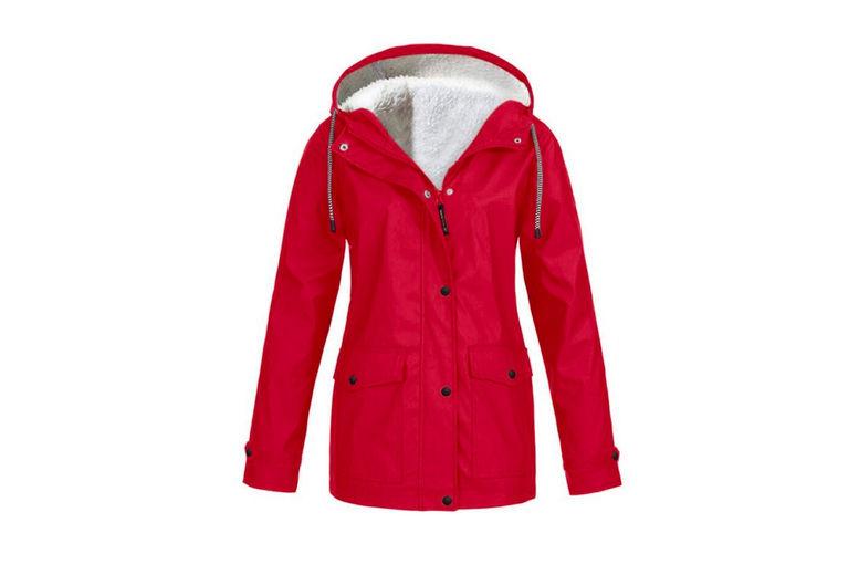 Changshashi-yichi-keji-youxiangongsi-Women's-Fleece-Lined-Raincoat-2
