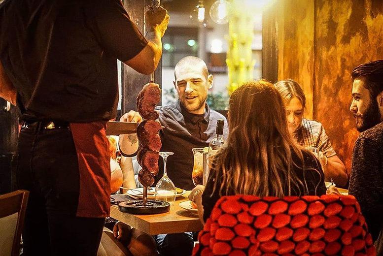 Brazilian Buffet Lunch & Wine Voucher