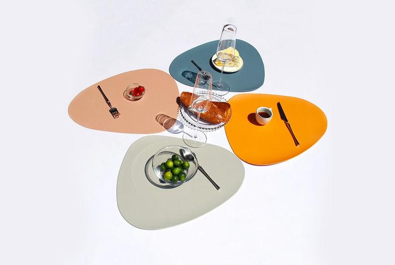 WishWhooshOffers---2Pcs-Waterproof-PU-Leather-Placemat-Tableware-Pad-Coaster