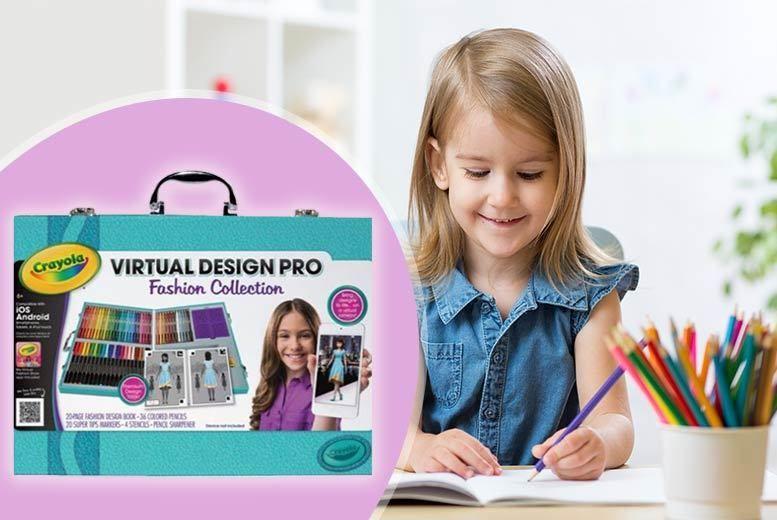 Toys Games Crayola Colour Alive Virtual Design Pro Fashion Collection Creative Toys Activities Toys Games