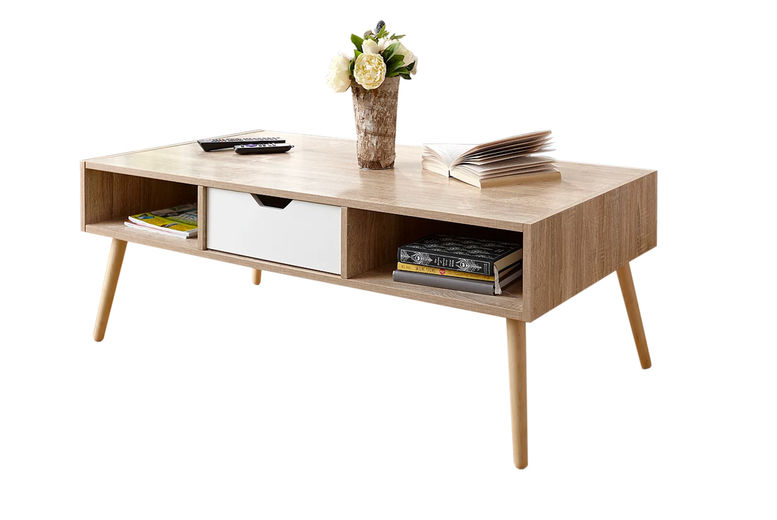 Retro Inspired Contemporary Coffee Table Shop Wowcher