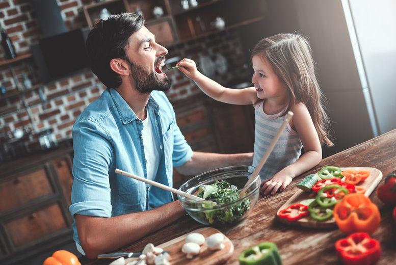 Kids Eating Stock Image