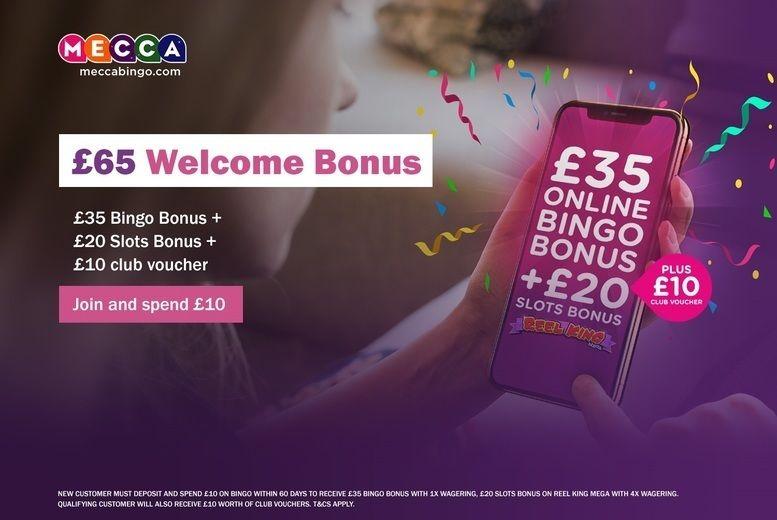 Mecca Bingo Credit - £25 for £65 To Spend