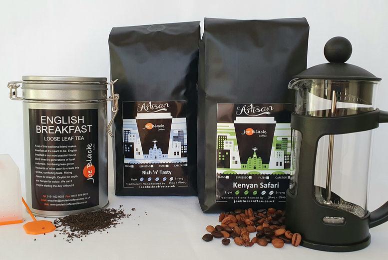 Luxury Coffee & Tea Hamper Voucher