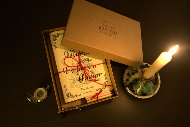 Virtual Handmade Murder Mystery Dinner Party