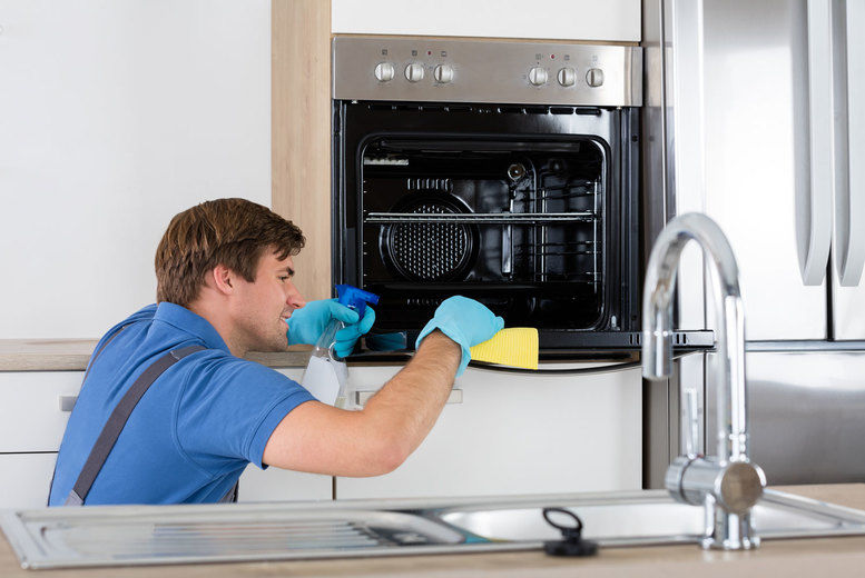 Oven Clean Stock Image