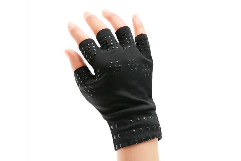 Rosdon-Group-LTD-Fingerless-Magnetic-Compression-Gloves-2