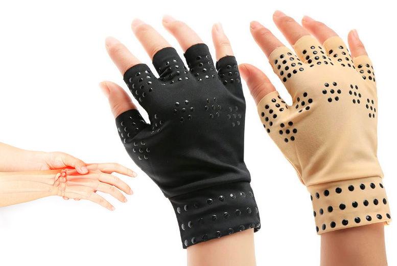 Rosdon-Group-LTD-Fingerless-Magnetic-Compression-Gloves-Main-NEW