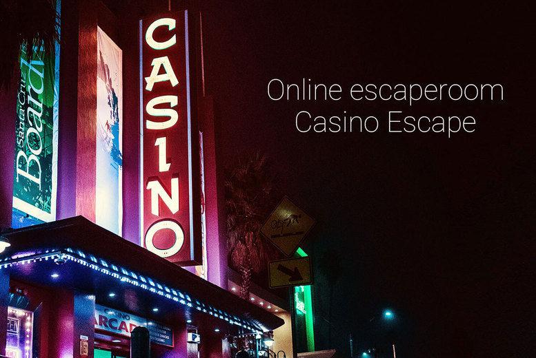 Online Escape Game Voucher - Casino Escape