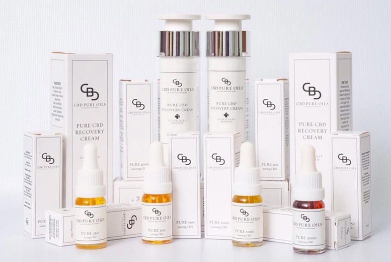 45% Off CBD Pure Oils Product Orders