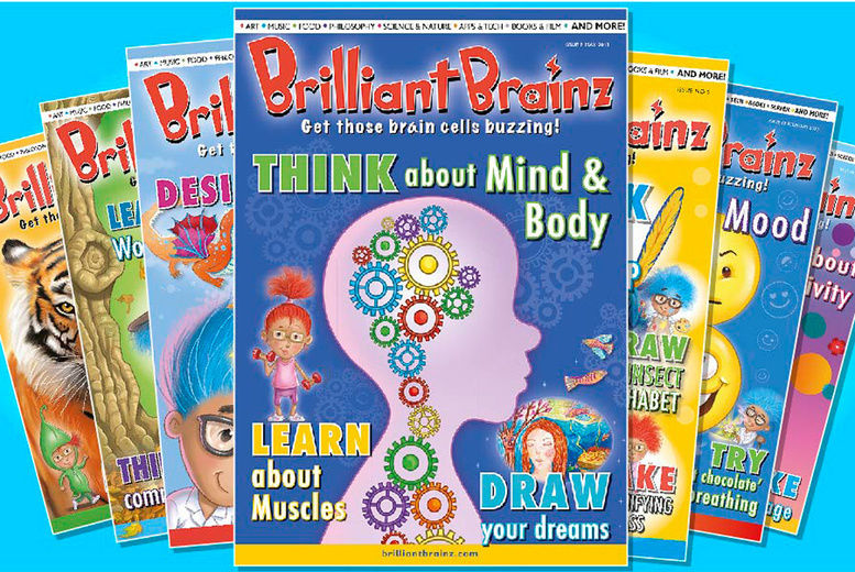Brilliant Brainz Magazine Voucher