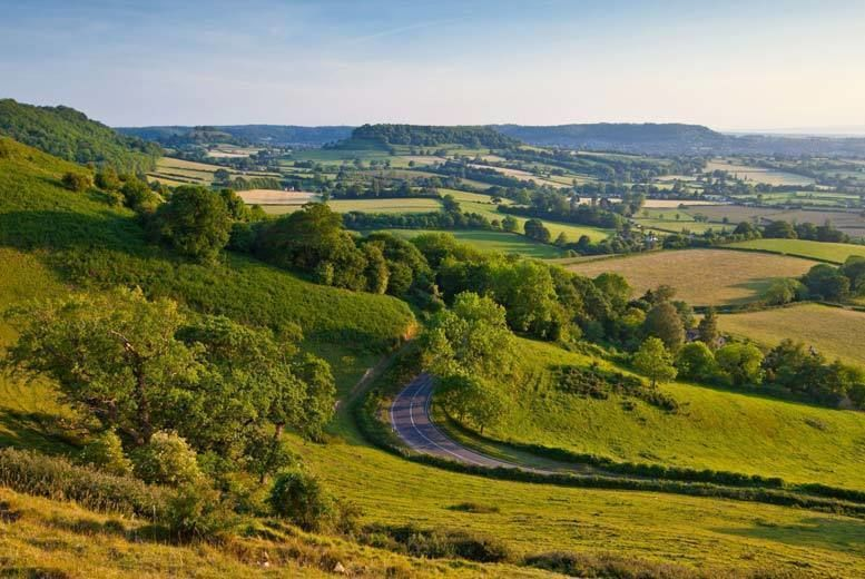 Cotswolds Stock Image