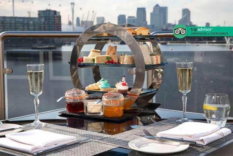 Afternoon Tea For 2 - Sunborn London Yacht Hotel