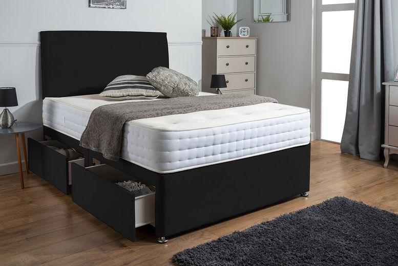 Sleep-Factory-Ltd---Plush-Velvet-Divan-Bed-Set-With-Memory-Foam-or-Pocket-Sprung-Mattress-and-Headboards2