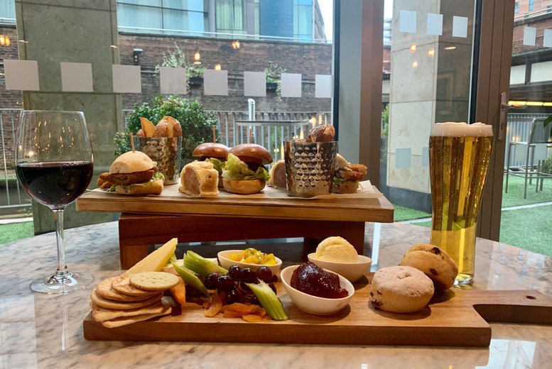 Rustic Afternoon Tea & Wine for 2 Voucher