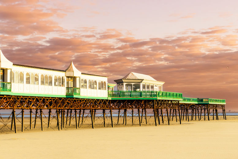 Lytham Hotel Stay for 2: Breakfast & Dining Option