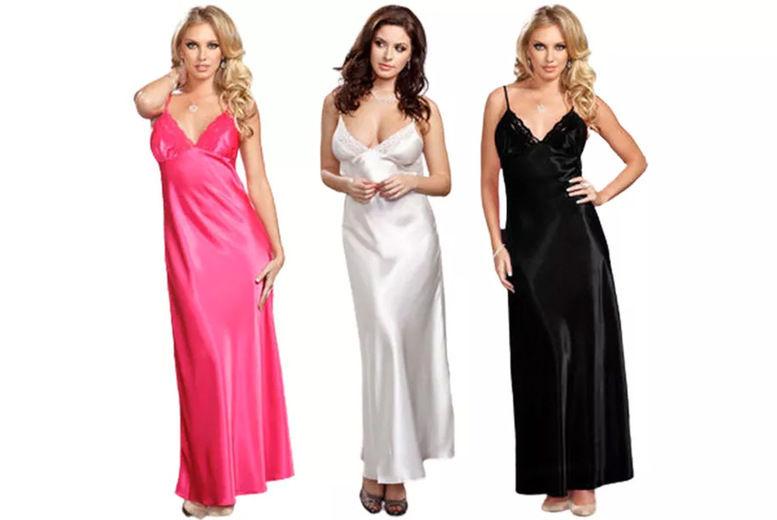 Maxi-Satin-Night-Dress-with-Matching-Thong-1