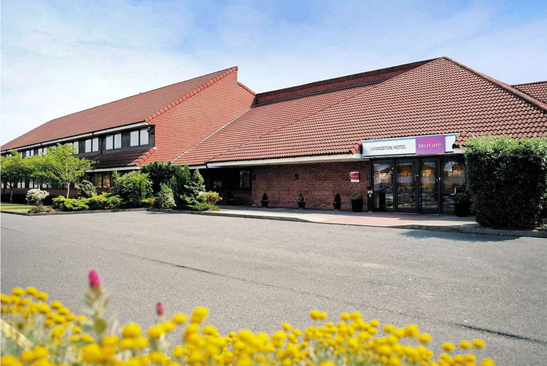 Mercure Livingston Stay For 2 Voucher  - West Lothian