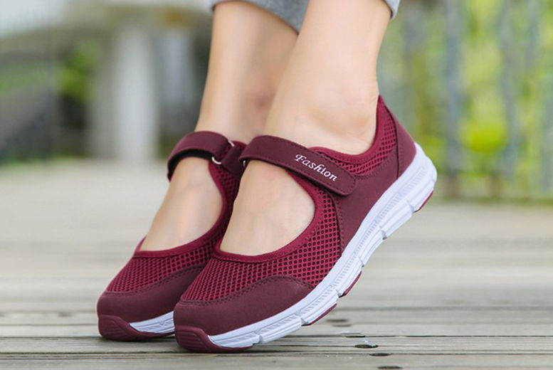 Womens Breathable Sneakers Sport Trainers 2
