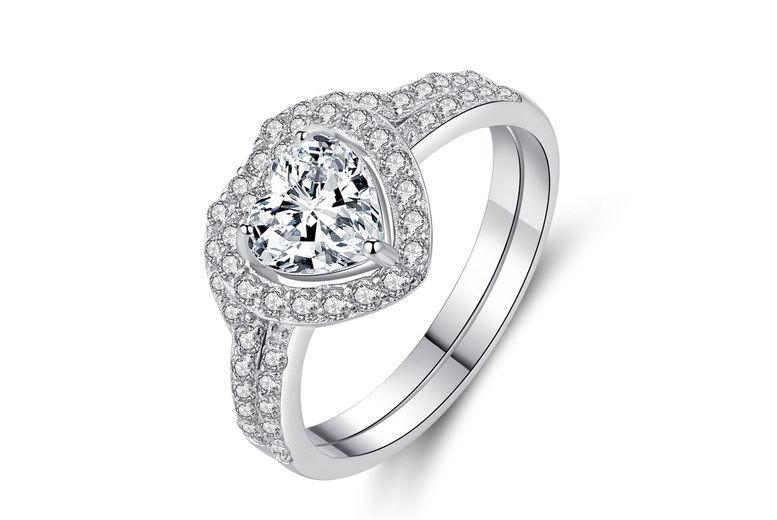 Game-Changer-Associates-Ltd.---Heart-Hugged-Crystal-Double-Ring-Set