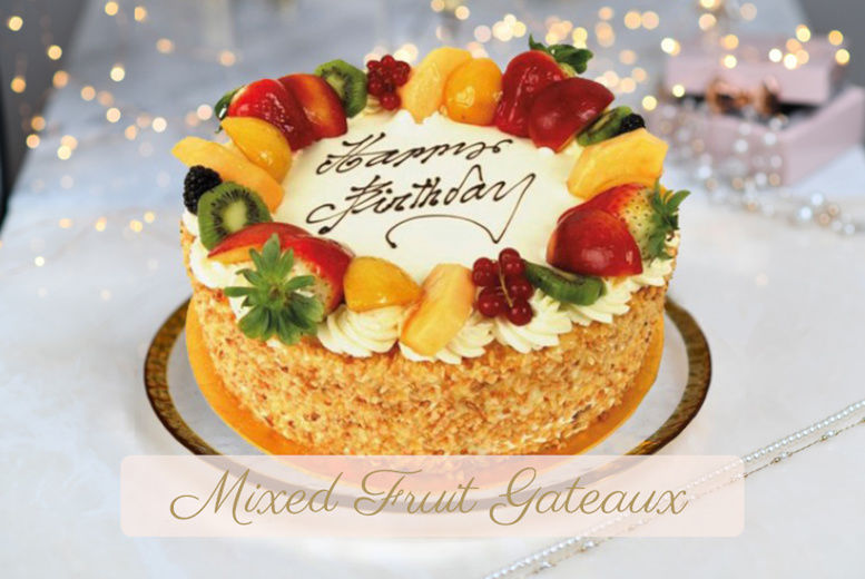 "8"" Handmade Birthday Cake from Caffe Concerto"