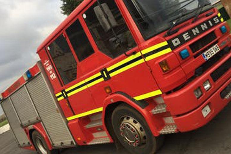 Dennis Sabre XL Fire Engine Experience Voucher