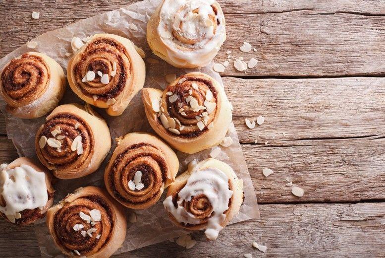 Personalised DIY Cinnamon Roll Baking Kit