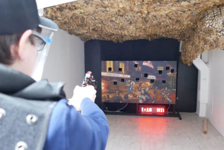 Airsoft Target Shooting Experience Deal