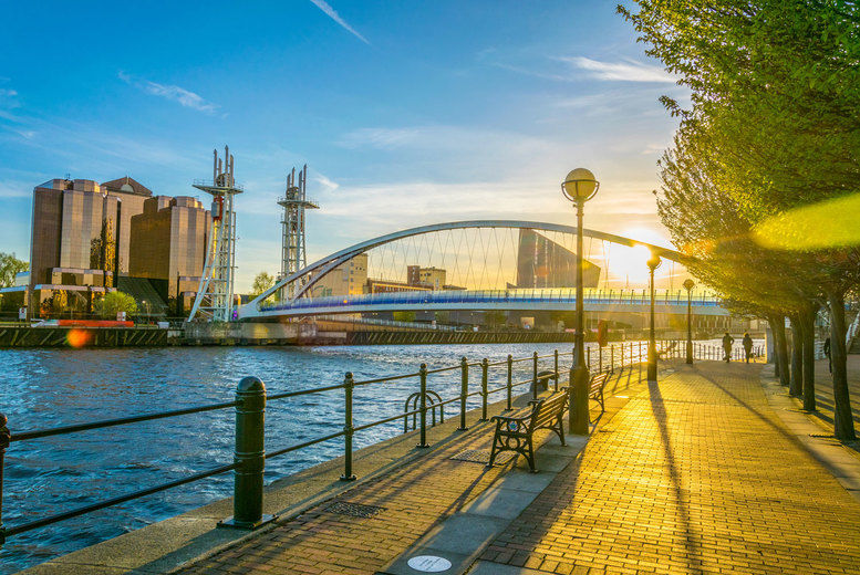 Manchester Stock Image