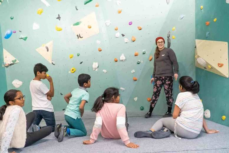 Kids Rock Climbing Club Session Voucher - London