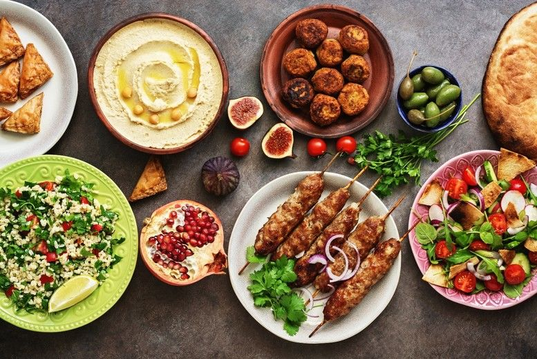 Meze Sharing Dishes for 2 Voucher - Swansea
