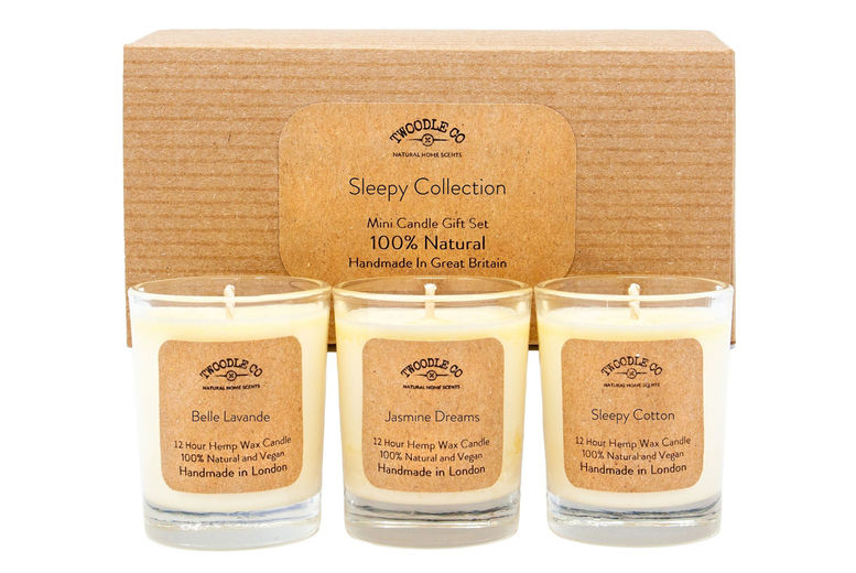 Mini 'Sleepy' Scented Candle Gift Set Voucher