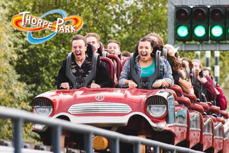 Thorpe Park Ticket Voucher