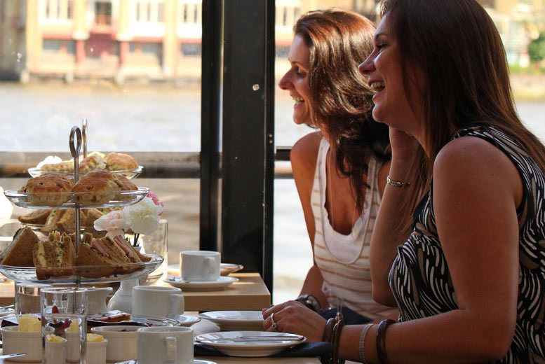 Thames Cruise, Afternoon Tea or Lunch Voucher - London