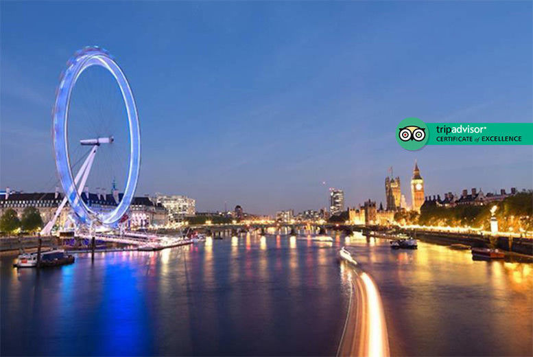 Thames Evening Cruise, Canapes & Bubbly For 2 Deal