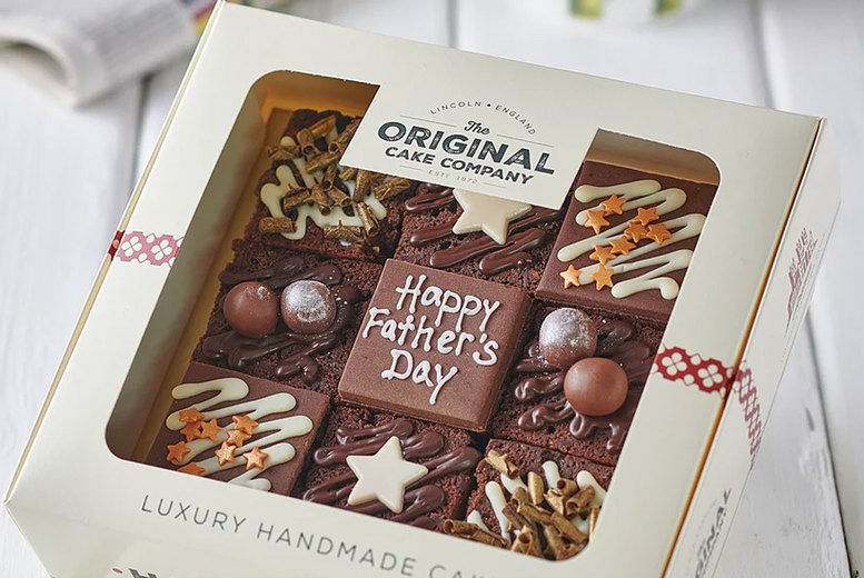 Father's Day Luxury Chocolate Cake Selection