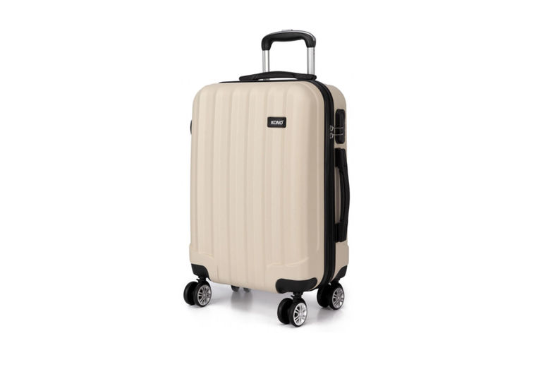 Kono-Vertical-Stripe-Hard-Shell-20inch-Suitcase-2