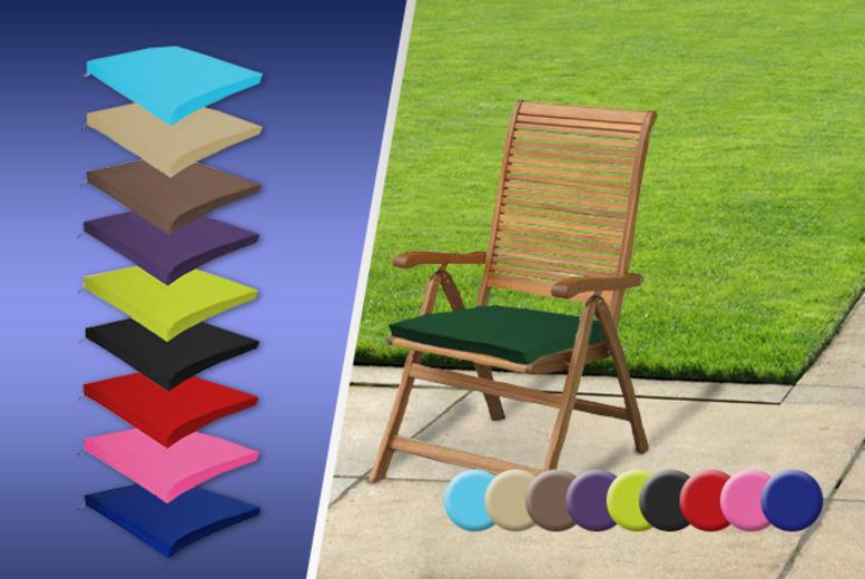 waterproof garden furniture cushions 10 colours shop wowcher