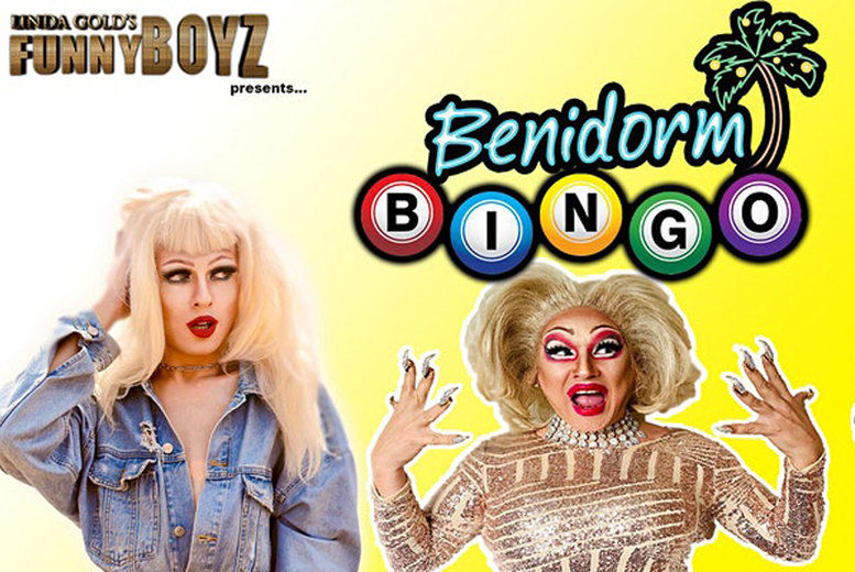 Funnyboyz Benidorm Bingo Tickets - Liverpool