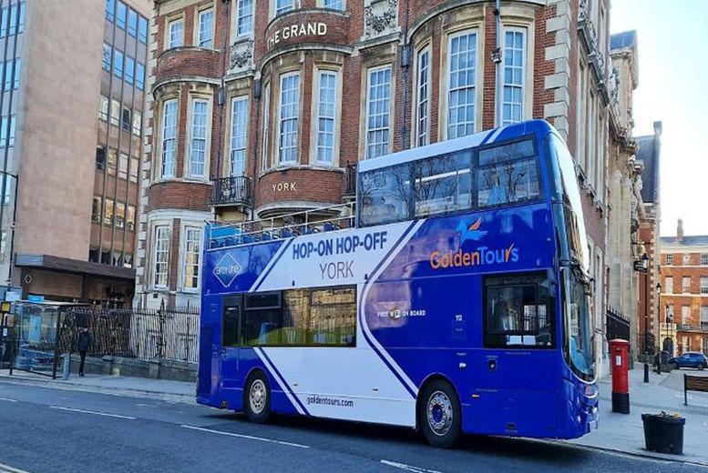 Hop-on Hop-off Bus Tour Deal - York
